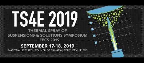 Thermal Spray of Suspensions & Solutions Symposium + EBCS 2019